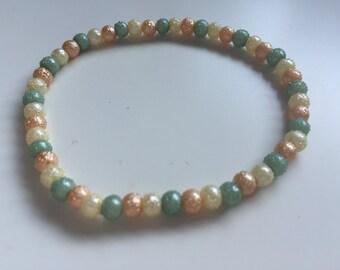 Handmade Textured Bracelet