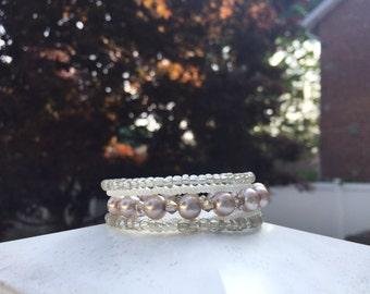 Princess Pearl Wrap Bracelet