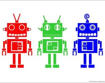 Robot Buddies Digital Download