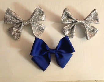 Snap- on Hair Bows