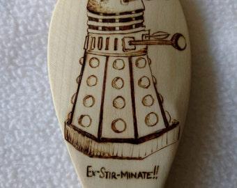 Doctor Who Dalek Wooden Spoon