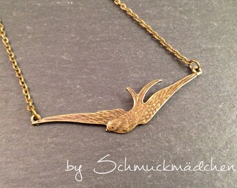 Chain bronze swallow