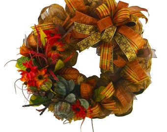 Autumn Traditions Wreath