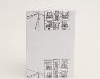 Illustrated book «Appartement Recherché» (Apartment wanted) by Myriam Bourgeois