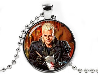The Lost Boys Necklace Pendant Kiefer Sutherland David Fangirl Fanboy