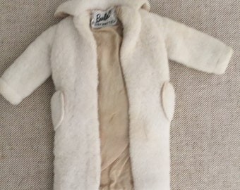 Vintage Barbie Peachy Fleecy Coat 1959-1961