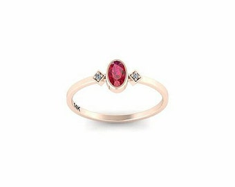 SALE - ruby ring, July birthstone ring, dainty, stackable July birthstone ring, mother's ring, 14k solid gold ruby red gemstone ring