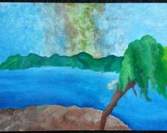 Serene Landscape of the Mind
