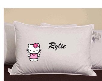 Customized Hello Kitty Pillowcase