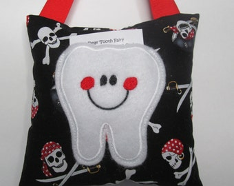 Tooth Fairy Pillow Pirates Ready to Ship