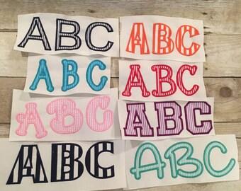 Font Applique Big Package Deal, Applique Package deal, Embroidery Font Applique Package Deal