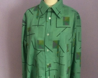 Mens 1970s vintage shirt size XL