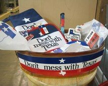 Don't mess with Texas gift basket