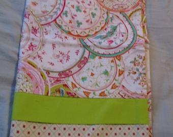 Handmade pillowcase for a standard pillow