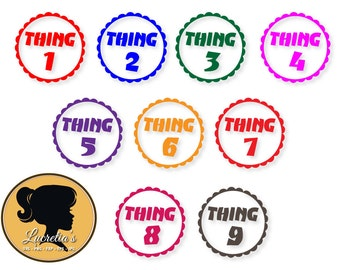 Thing, Thing 1 Svg,Thing 2, Seuss SVG ,clipart, SVG files for Silhouette Cameo or Cricut, Thing svg, dxf, vector