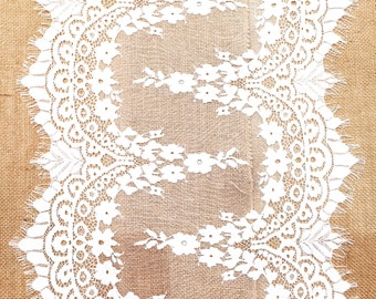 Lace table runner - 3mt length
