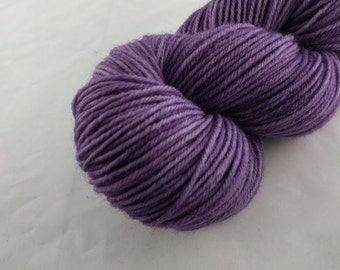 Yarn - One Of A Kind #12 -100% Wool - Hand Dyed - Knit - Crochet - Sport Weight