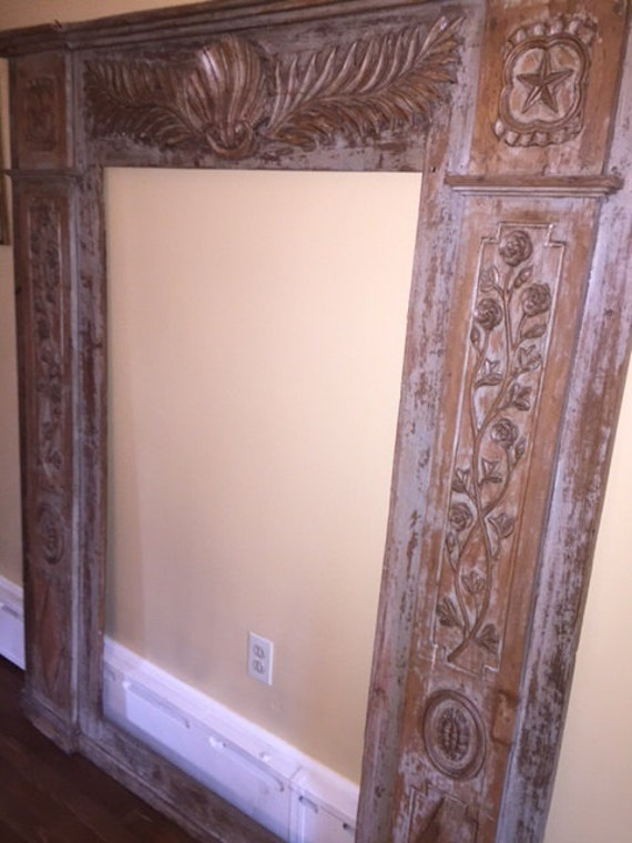 Large Wood Carved Frame