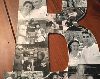 Customized Photo Letters