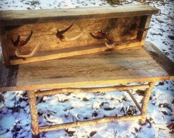 Rustic Rough Sawn Coffee Table