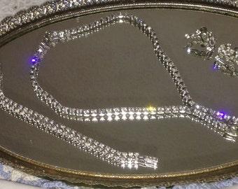 Beautiful Vintage Kramer Necklace,Bracelet and Earrings