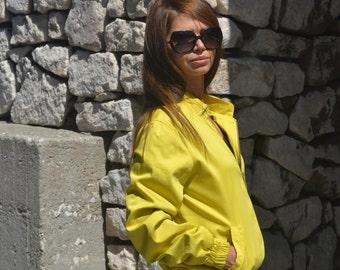 Bomber Classic Womens Jacket,Fashion bomber jacket, Bomber pocket jacket