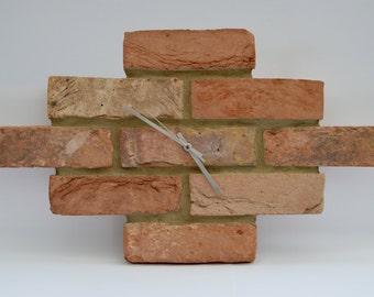 The London Brick Clock ( Red Brick Stock )