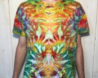 Tie Dye Bright Colors Shirt LARGE