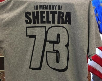 Sheltra 73 Memorial T-Shirts - Adult 3X-Large