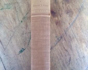 Vintage book The American Presidency, An Interpretation 1940 Harold J. Laski First Edition
