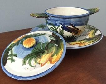 Tea & Small Dish Set
