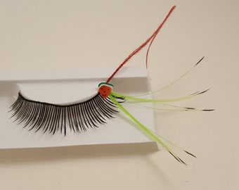 Watermelon-licous Feather Lashes