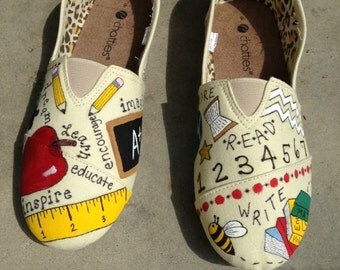 Custom Teacher Shoes