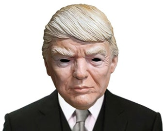 Donald Trump 2016 Republican Presidential Candidate Costume Face Mask
