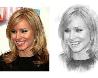 I Will Turn Your Photo Into An Amazing Pencil Sketch Portrait