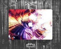 Abstract Brush Painting Macbook Cover Decal, Laptop Cover Decal, Vinyl Cover, Peel and Stick Cover, Mcbook Air Cover Sticker OH012
