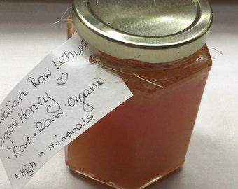 Lehue plant raw honey