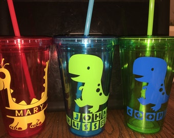 Dinosaur cup (personalized)