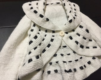 Childrens Hand Knit Jacket