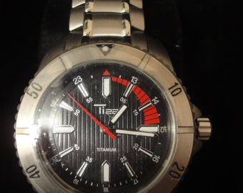 gents titanium watch Ti 22 NEW with box gaurentee at special discount price