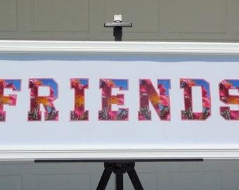Friends Word Art