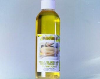 Jasmine organic massage oil