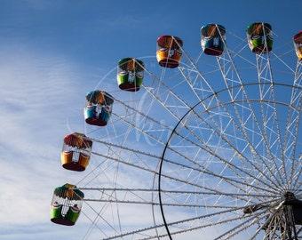 Photography- Ferris Wheel, Adelaide SA