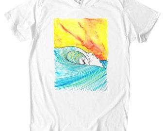 Sunset Slab Organic T-shirt