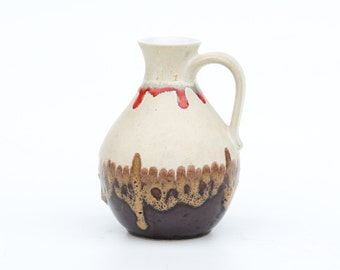 75% off last chance-Bay fat lava vase 71 17-Retro German ceramic-West Germany fat lava vase