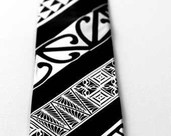 Polynesian Silk Necktie