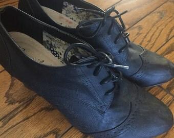Back heels size 8