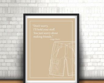 Cargo Shorts and friends - Printable