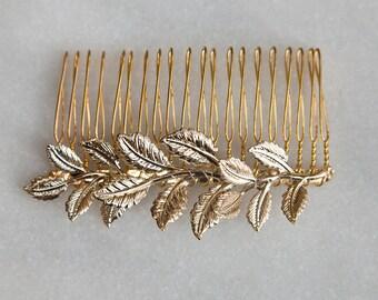Golden Leaf Comb