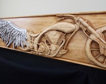 Angel Winged Motorcycle